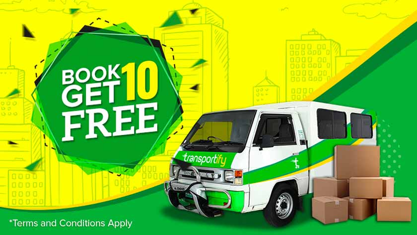 Transportify Philippines Book 10 Get 10 Promo is Back