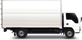 6W Canter Elf Truck Closed Van Extra Space Vehicle Image