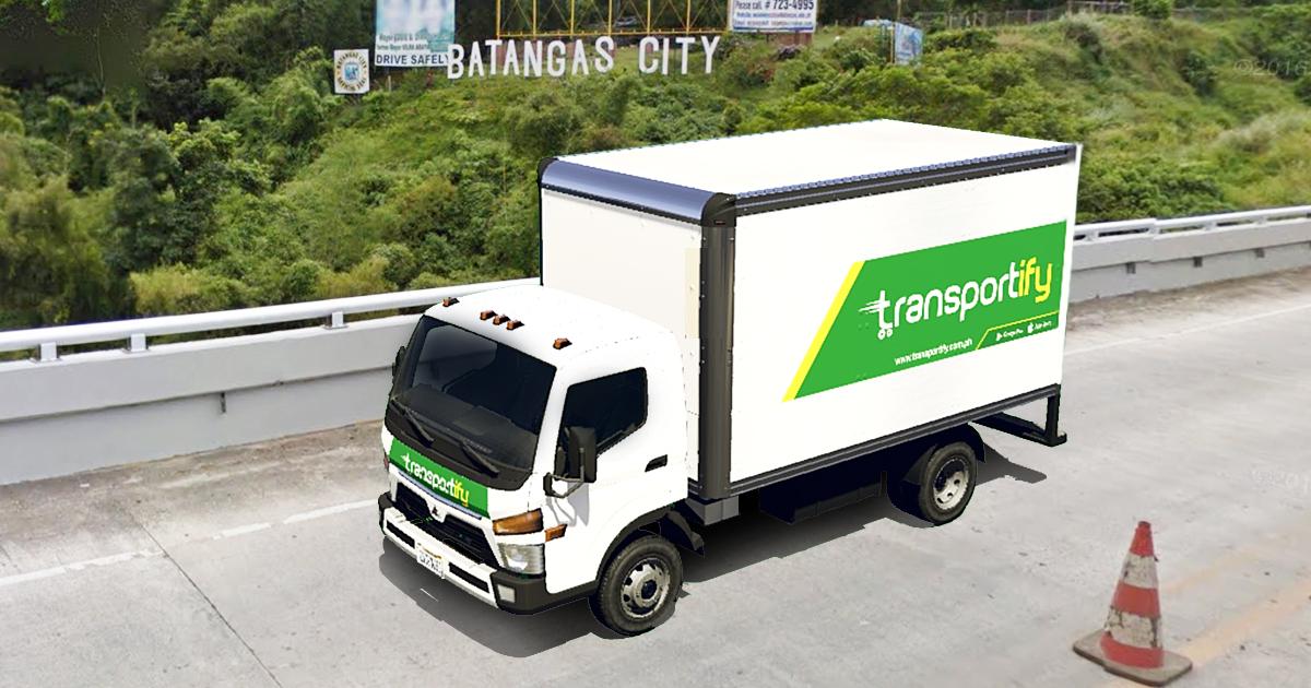 Cargo Van Rental Manila to Batangas