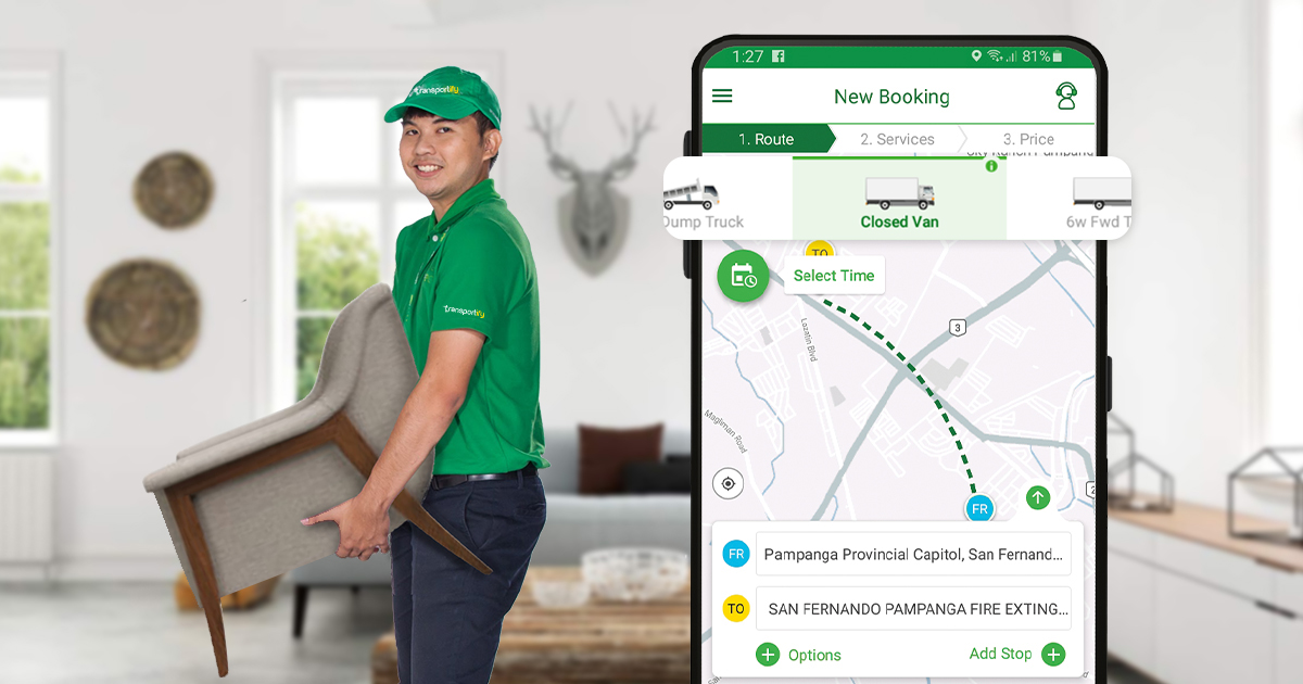 App for Moving Furniture and Relocation Services
