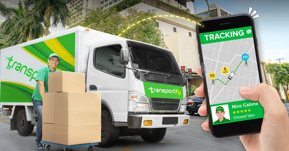 Cargo Van Delivery Tracking