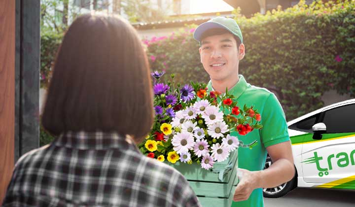 The Art of Flower Delivery