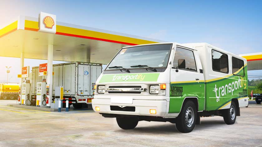Transportify Partners with Shell Philippines