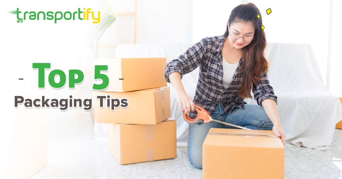 Top 5 Packaging Tips from Professional Shipping Services Courier