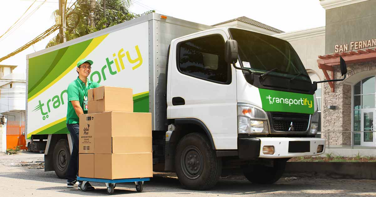 Closed Van Truck Services Rental Pampanga
