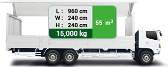 Transportify 10-Wheeler Wing Van