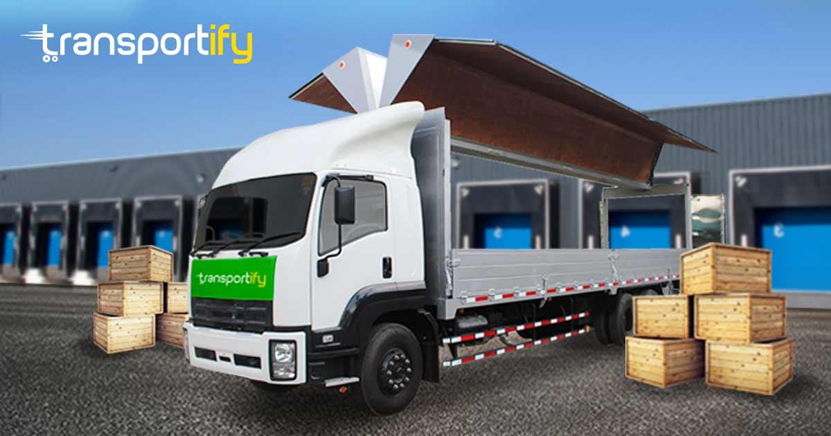 10-Wheeler Wing Van Truck Transport