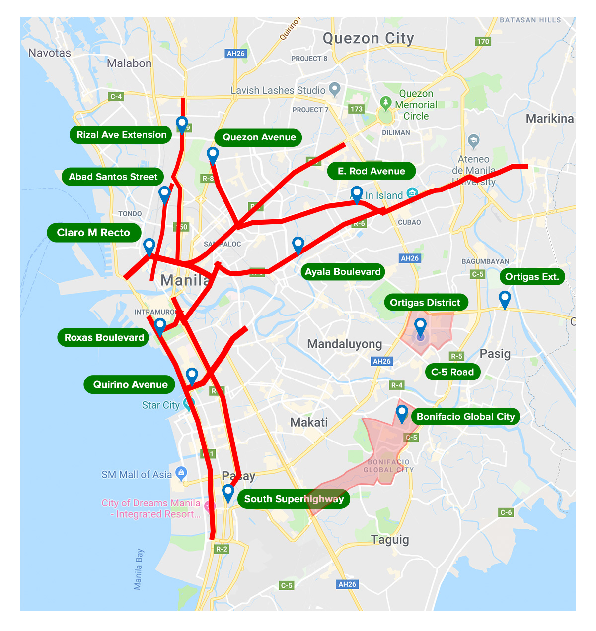Metro Manila Truck Road Restrictions
