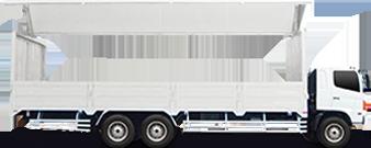 Vehicle 10 Wheeler Wing Van Body