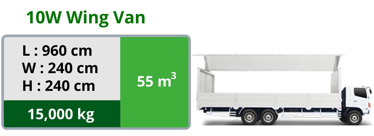 10W Wing Van