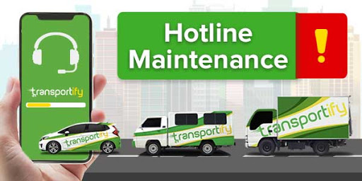Transportify Hotline Downtime