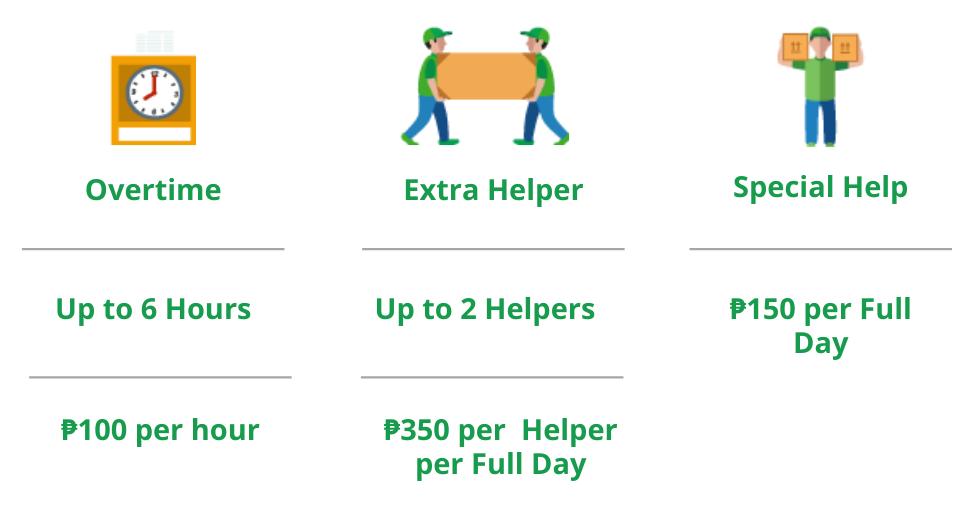 Pampanga L300/Van Full Day Extra Services