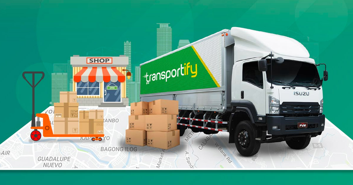 Transport and Logistics Deliver Packages