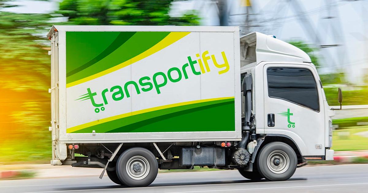 Freight Forwarder Closed Van Rental Cargo Truck Service