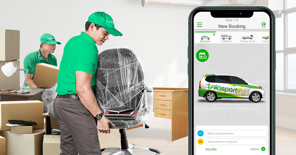 transportify delivers home office equipments