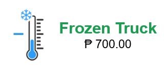 frozen truck price
