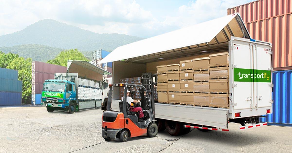 10 wheeler wing van in freight