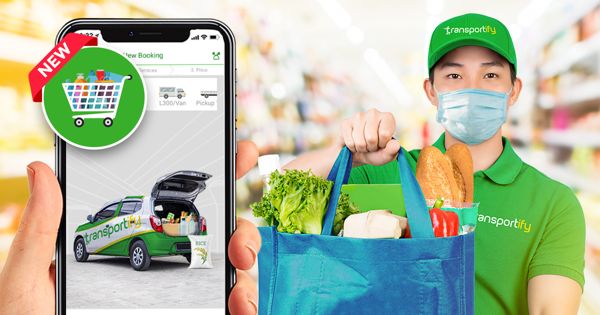 Online Grocery Delivery Shopping Transportify