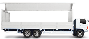 10 Wheeler Wing Van on a Cargo Delivery App (Lowest Price) QR