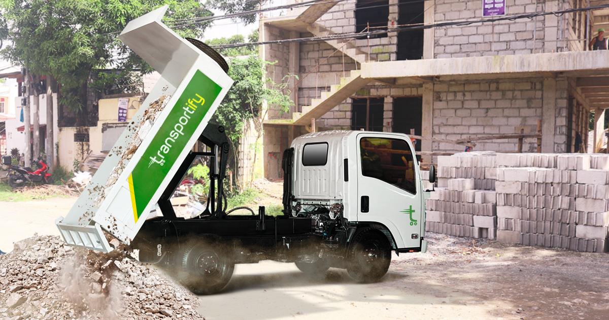 Debris Hauling Construction Materials Delivery