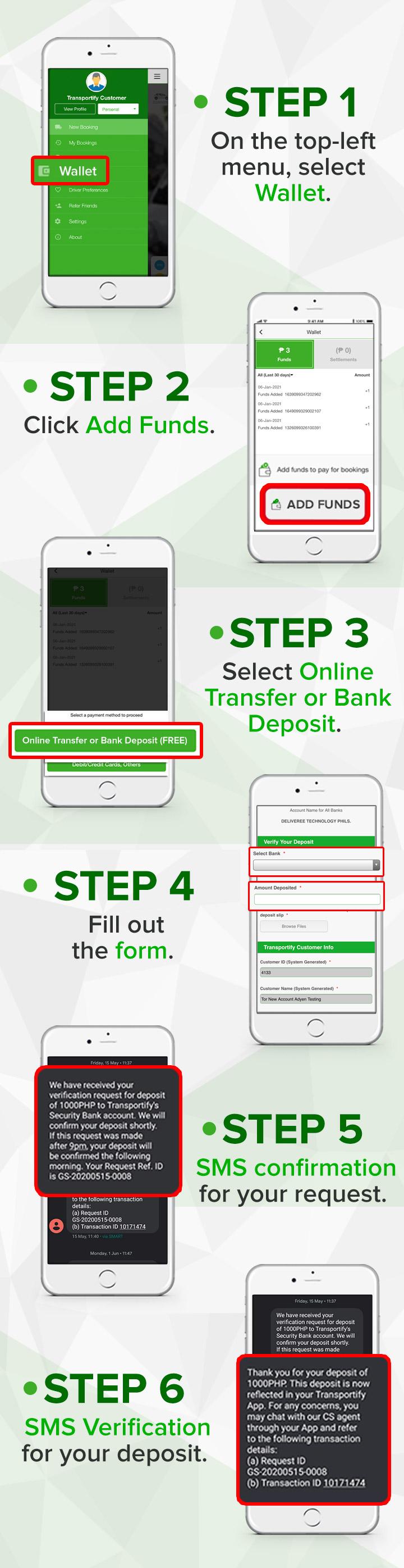 Bank Transfer Instructions