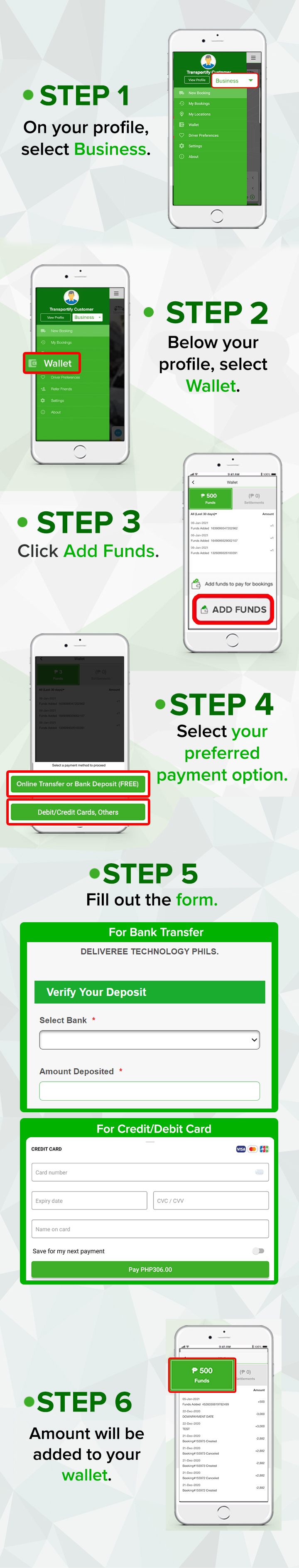 Add Funds to your BP Account - Mobile