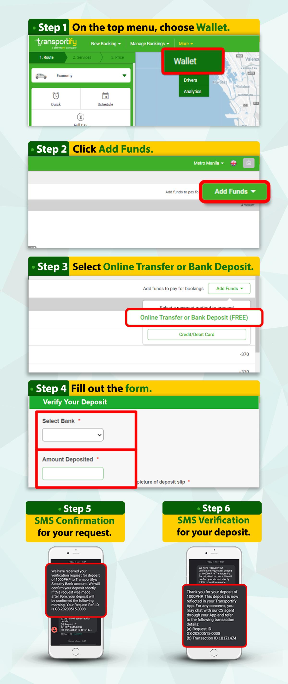 Web App Tutorial Bank Transfer