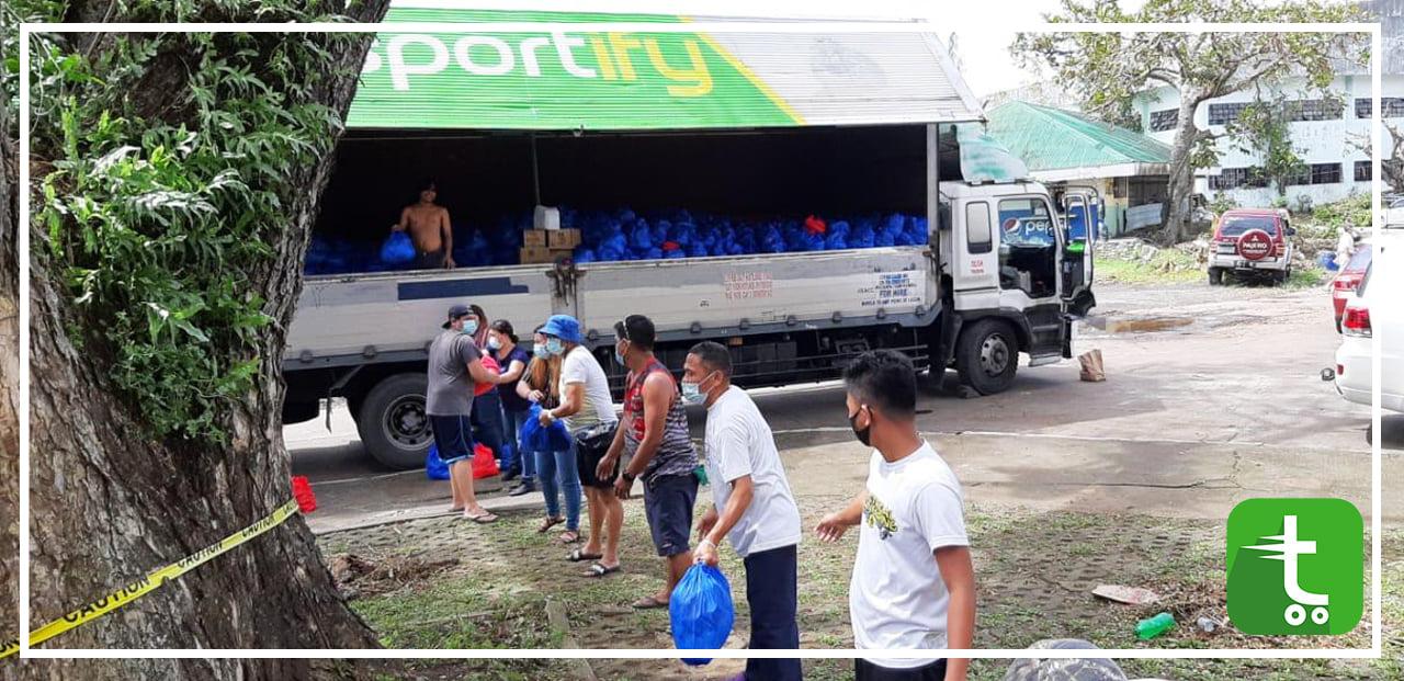 Bicol Region Relief
