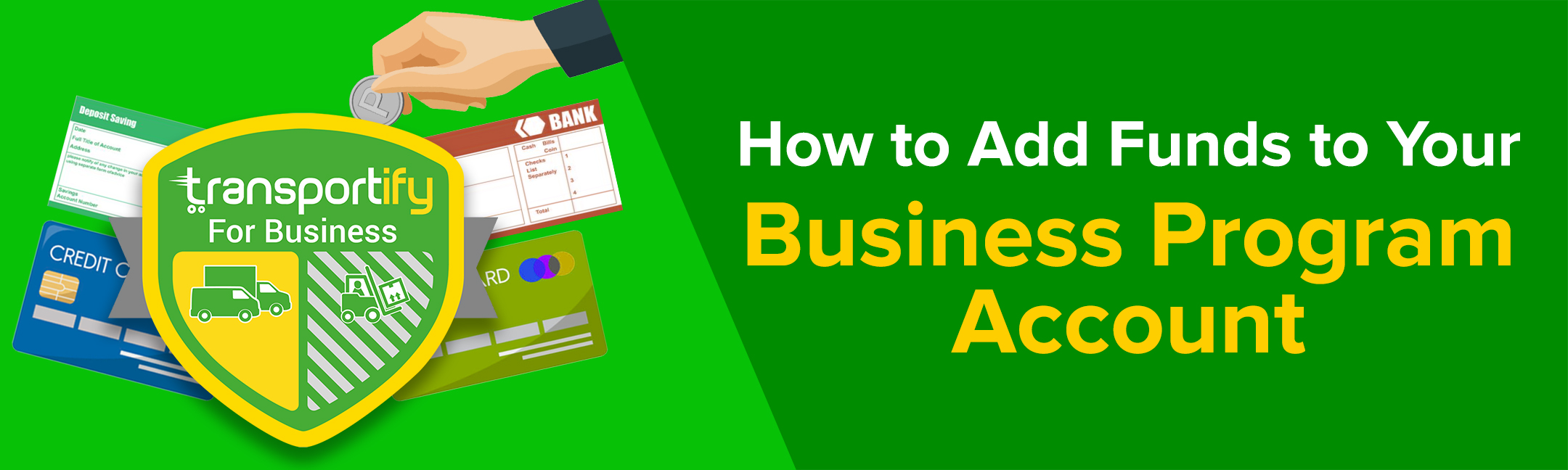How to Add Funds to Your Business Program Account
