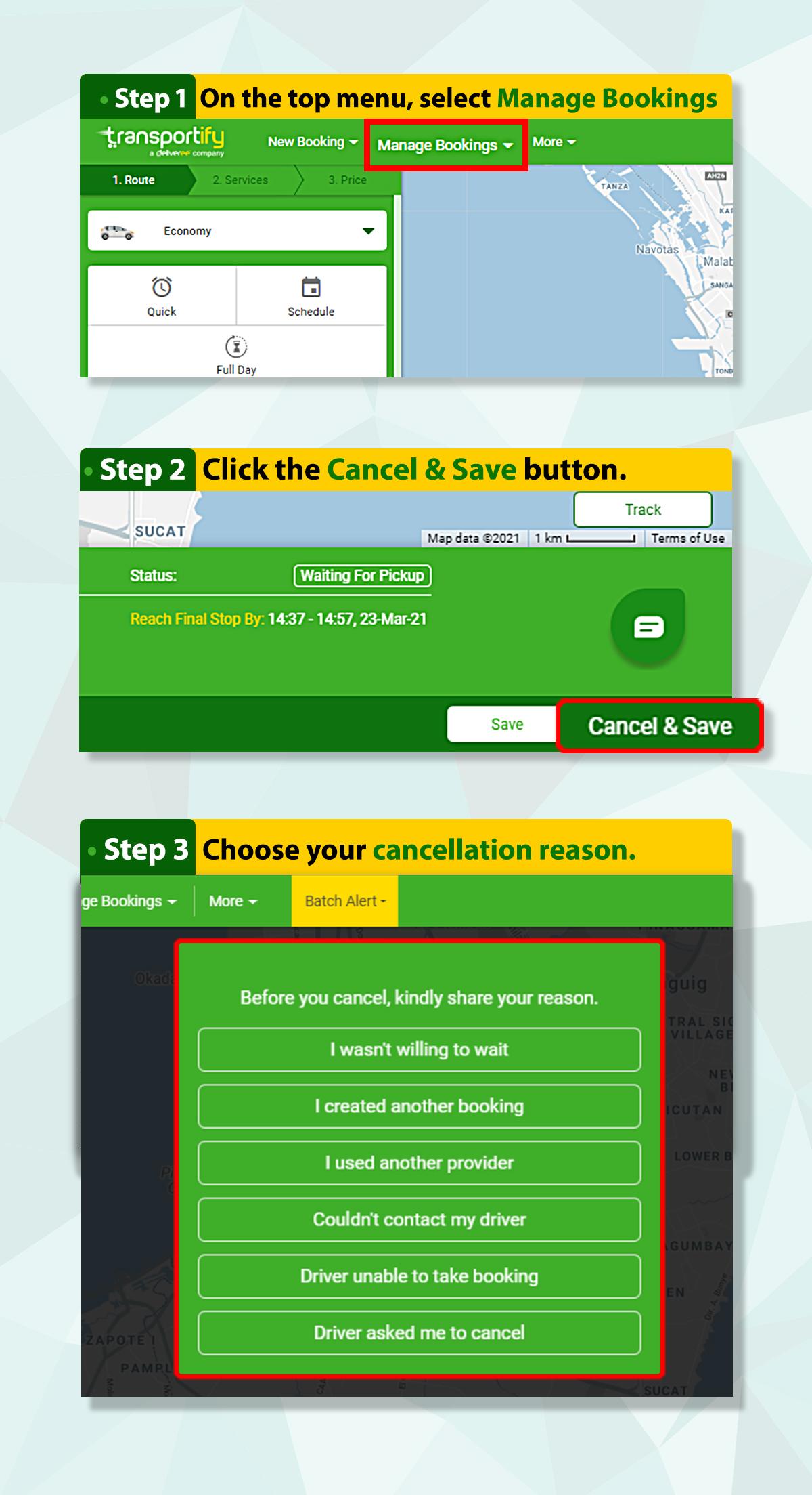Customer Self-Cancellation Web App