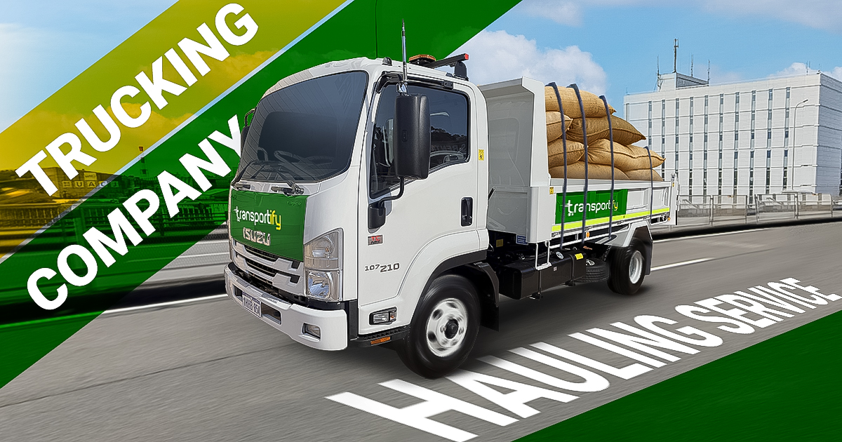 Hauling Services and Trucking Company in Manila