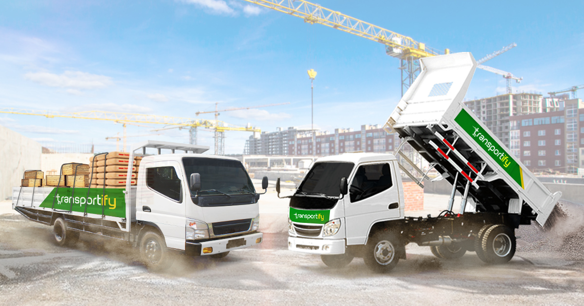 Affordable Truck Rental Services for Building Supplies Delivery