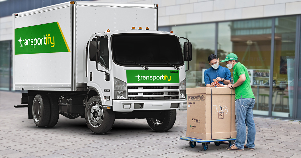 Rent A Delivery Truck From A Logistics Service Company