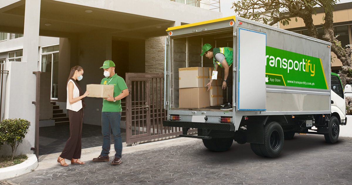 Home Delivery Service Truck Hire App