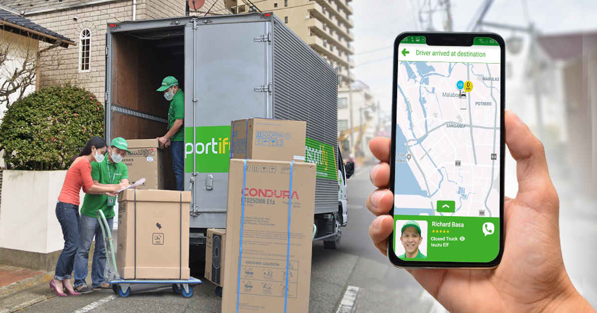 Tracking Express Delivery Of Appliances Via Logistics Apps
