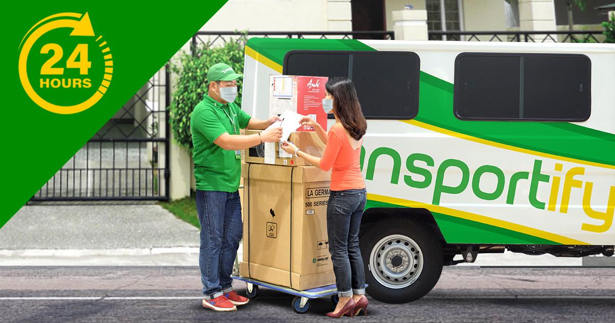 Door to Door Transport Service Delivery Within 24 Hours