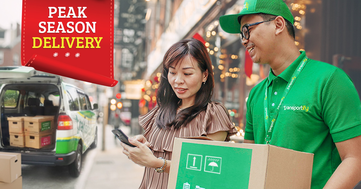 Pick Up and Delivery Services During Peak Season in the Philippines