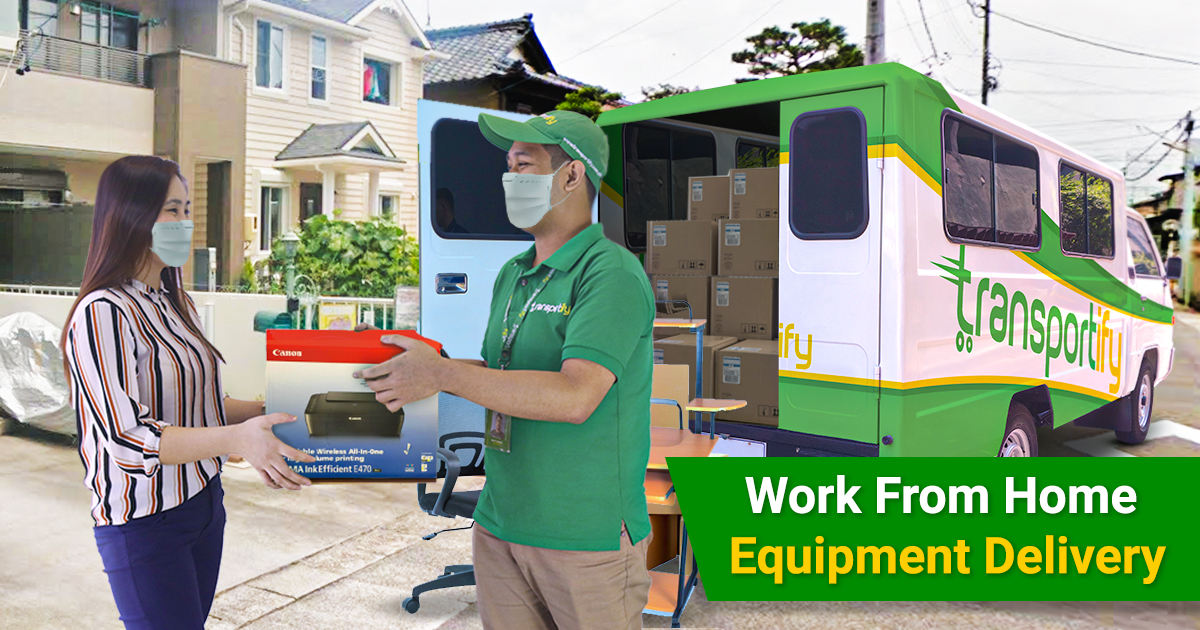 Local Delivery Service For Work From Home Equipment [2021]